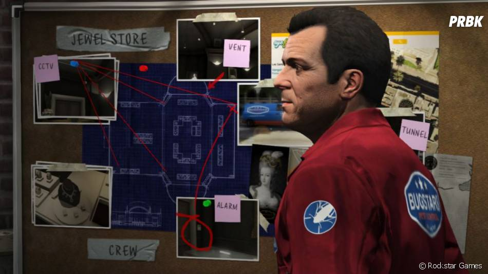 GTA 5 : Michael aime quand un plan se déroule sans accroc