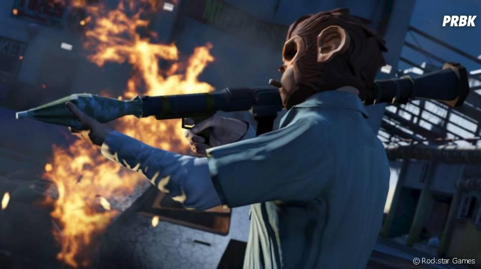 GTA 5 : le bazooka sera aussi de la partie