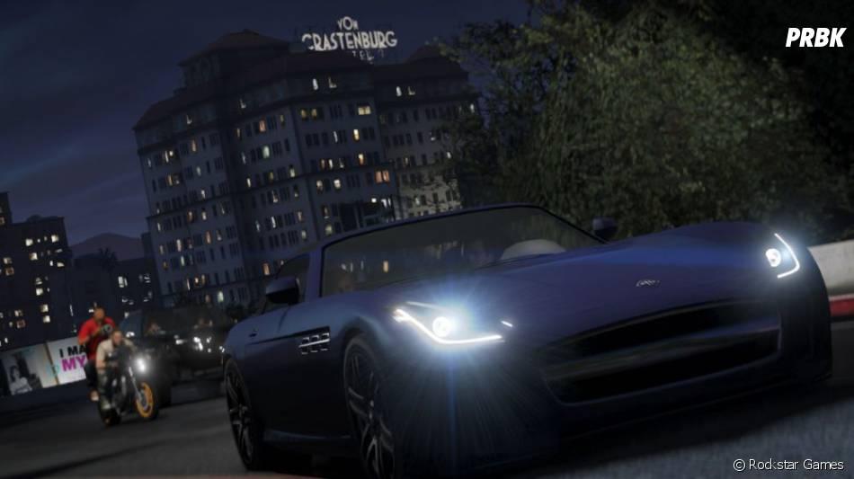 GTA 5 : des beaux bolides pourront être conduits