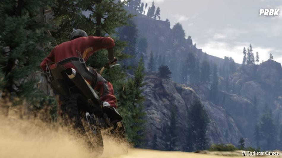 GTA 5 : la moto-cross comme nouveau véhicule