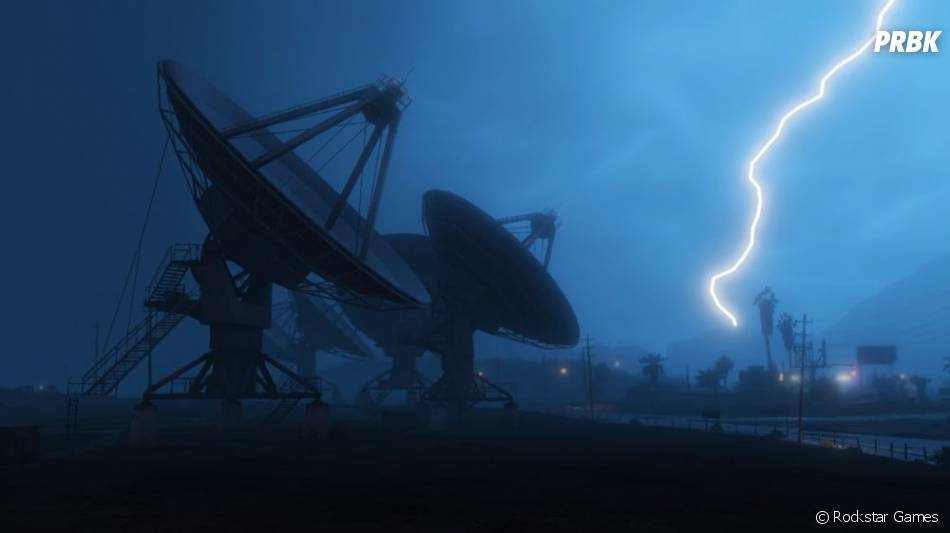 GTA 5 : l'orage débarque à Los Santos