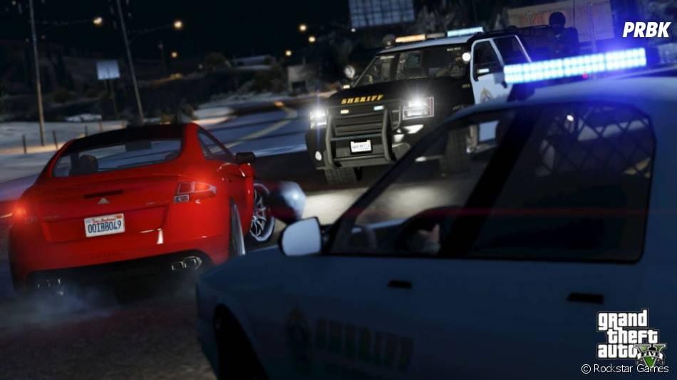 GTA 5 : courses-poursuites explosives dans le jeu