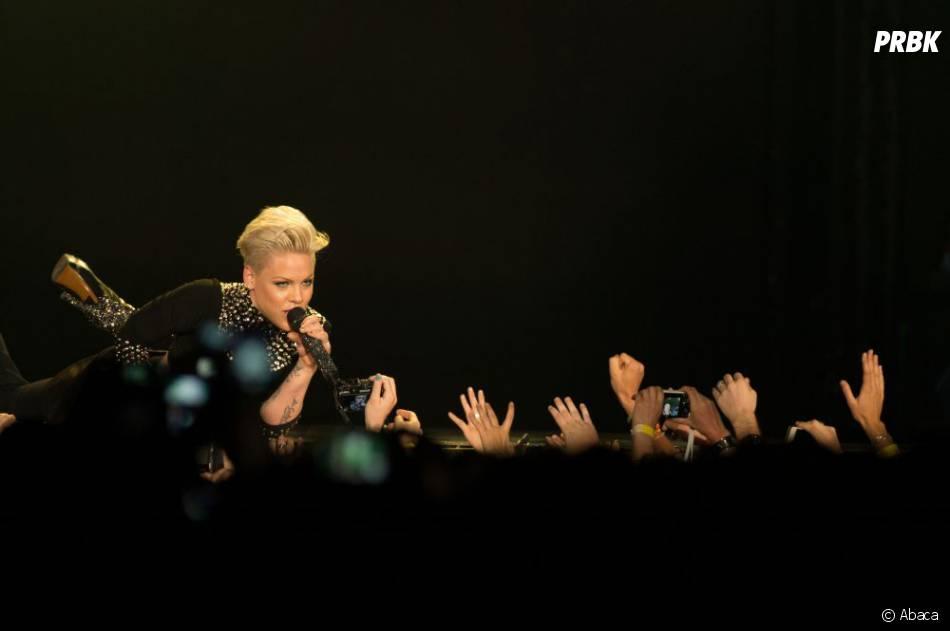 Pink a été contrainte d'annuler un concert pour cause de maladie