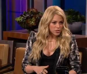 Shakira a révélé qu'elle est restée vierge jusqu'à ses 19 ans sur le plateau de Jay Leno.