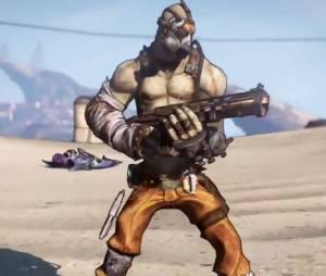 Krieg le Psycho, un nouveau personnage pour Borderlands 2