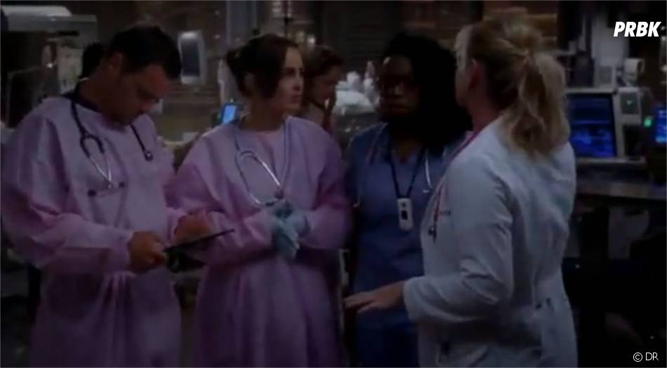 Mini-réunion de crise dans Grey's Anatomy