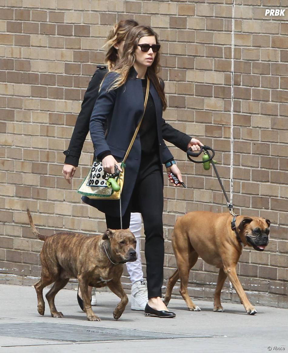Jessica Biel a compris comment être en bonne santé grâce à ses chiens