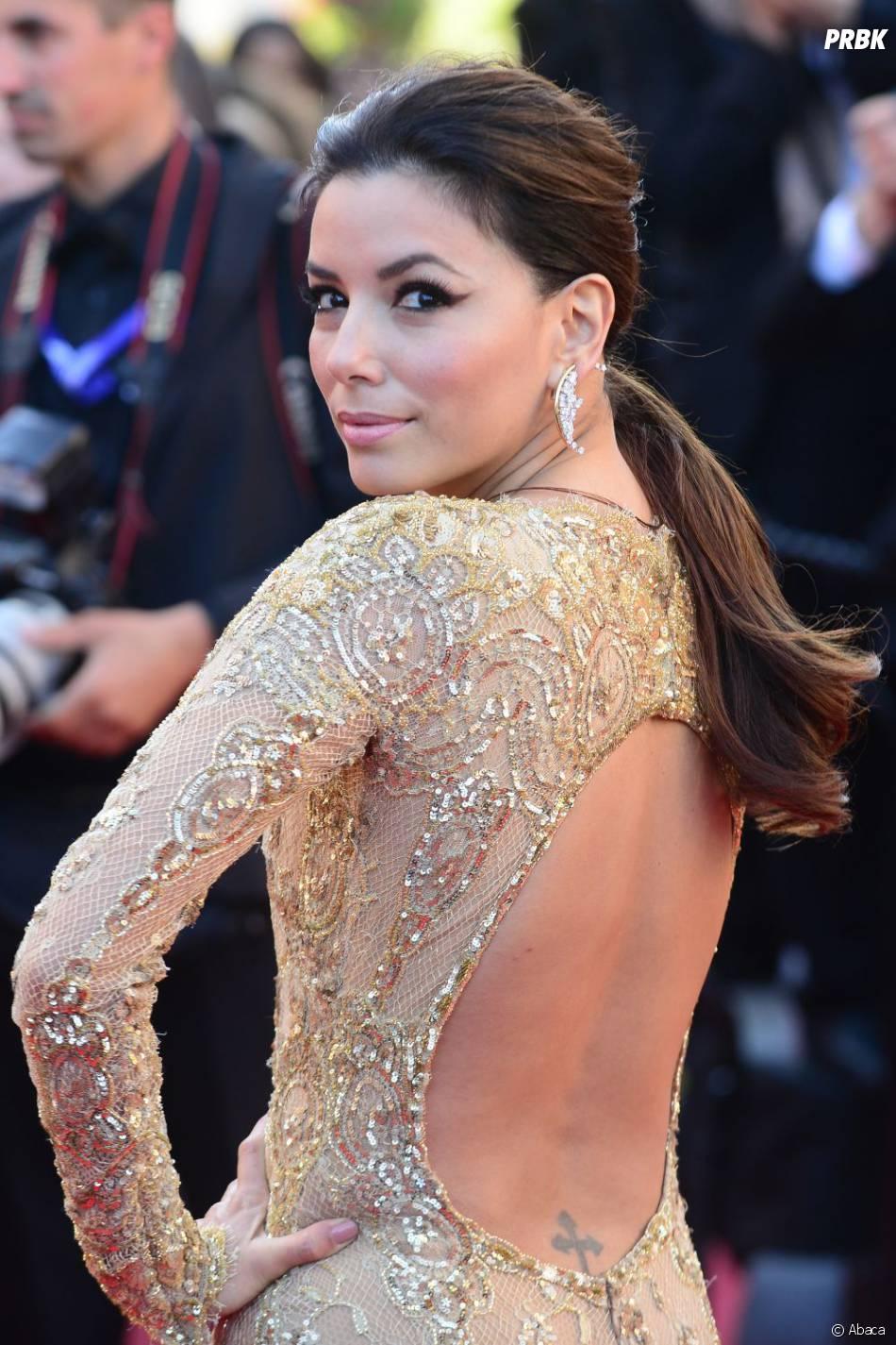 Eva Longoria, sublime sur le tapis rouge de Cannes 2013