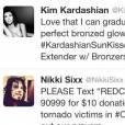 Kim Kardashian humiliée sur l'Instagram de Nikki Sixx