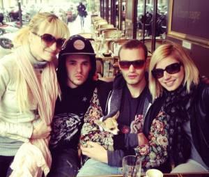Nadège, Audrey, Yoann et Julien se sont retrouvés pour déjeuner un an après Secret Story 6.