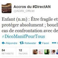#DicoManifPourTous : le hashtag qui se moque des anti-mariage pour tous sur Twitter