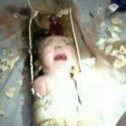 Chine : un bébé jeté dans les toilettes sauvé miraculeusement (vidéo)