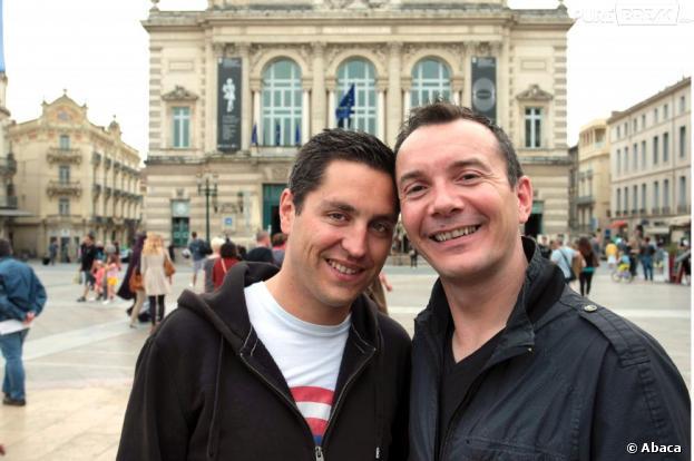 """Vincent Autin et Bruno Boileau, les premiers mariés gay, se diront """"oui"""" ce mercredi après-midi à Montpellier"""