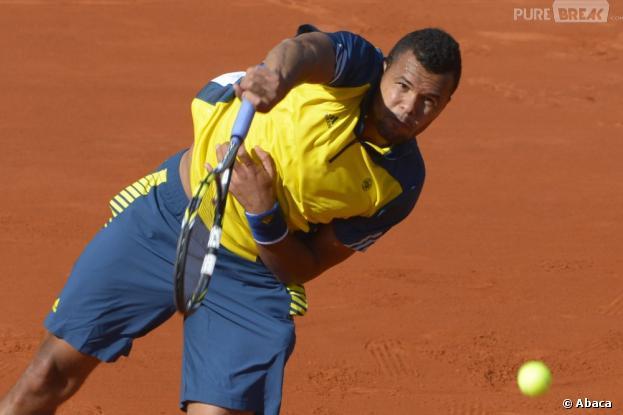 Jo-Wilfried Tsonga a brillé en quart de finale de Roland Garros 2013
