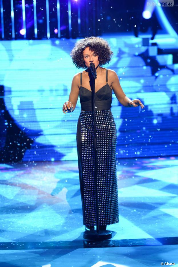 Natasha St-Pier, une Whitney Houston pas convaincante dans Un air de star