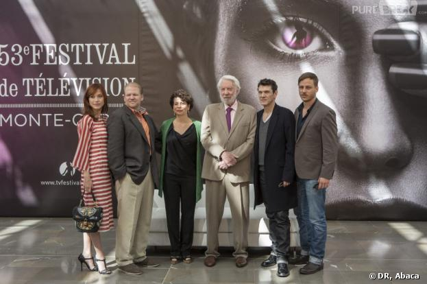 L'équipe de Crossing Lines au Festival de la télévision de Monte Carlo 2013