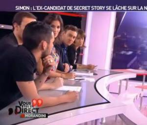 Simon de Secret Story 5 était invité sur le plateau de Jean-Marc Morandini sur NRJ12.