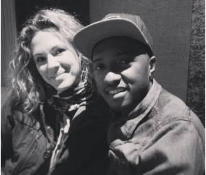 Lorie et Soprano en studio pour l'hymne handisport