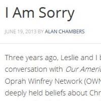 """Alan Chambers, le pasteur qui voulait """"guérir les gays"""", fait son coming out"""