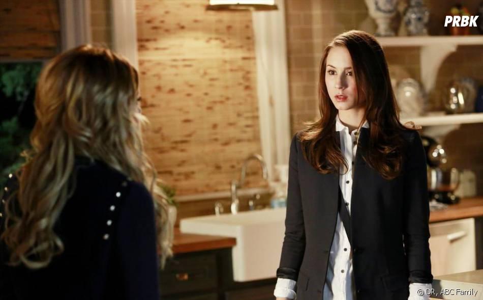 Pretty Little Liars saison 4 : Spencer confrontée à Melissa dans l'épisode 4