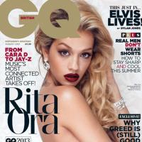 Rita Ora : nue et glam en Une de GQ