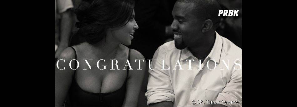 Beyoncé félicite les parents Kim Kardashian et Kanye West