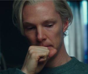 Le cinquième pouvoir :Benedict Cumberbatch en Julien Assange