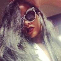 Rihanna : cheveux gris version Cruella