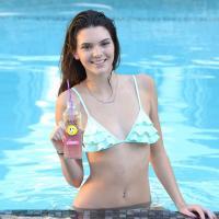 Kendall Jenner : shooting sexy en bikini pour la marque Hubert's Lemonade