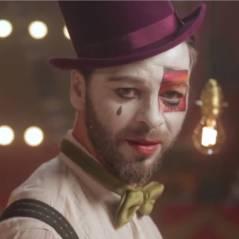 Christophe Maé : Je veux du bonheur, le clip au cirque