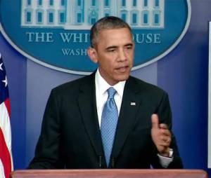 Barack Obama revient sur l'acquittement de George Zimmerman, qui a tué le jeune noir Trayvon Matin