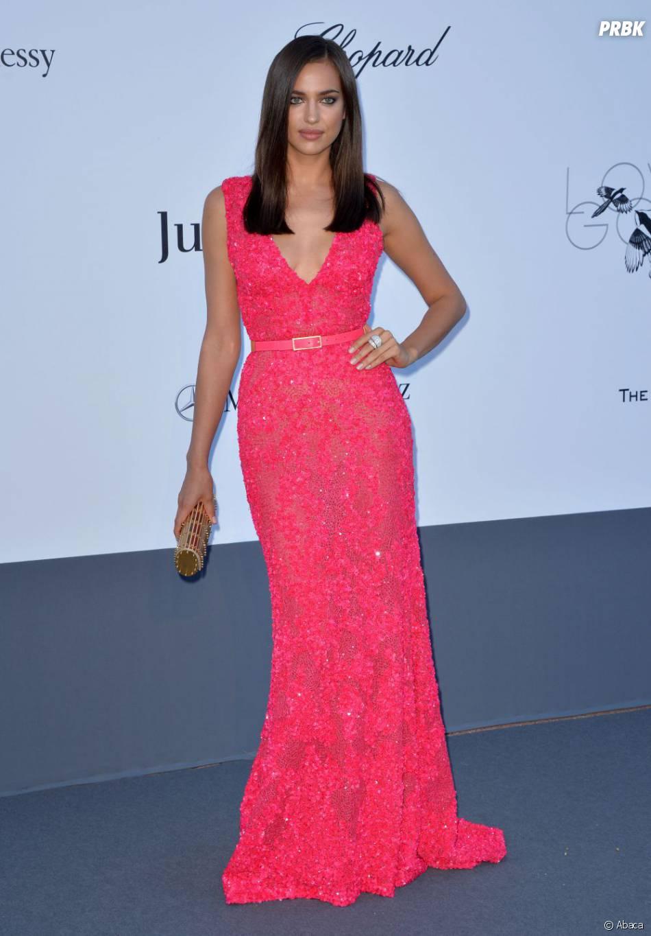 Irina Shayk à la soirée amfAR du festival de Cannes 2013