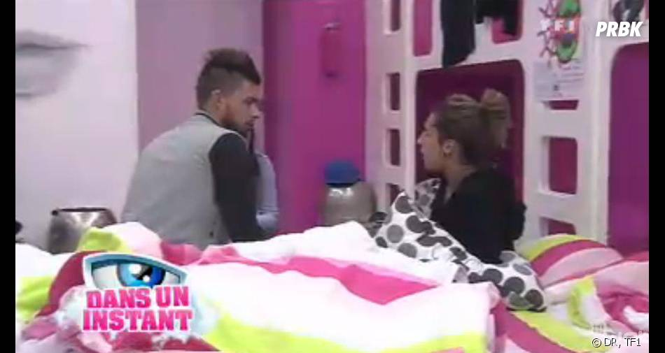 Secret Story 7 : Vincent apprend la grossesse d'Alexia.