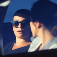 Lea Michele : Cory Monteith sur son coeur pour sa première apparition publique après sa mort