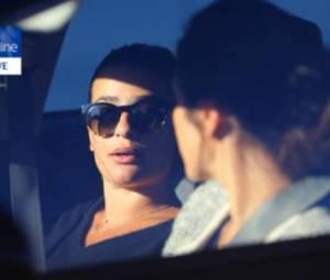 Lea Michele : première apparition depuis le drame avec un collier en hommage à Cory Monteith autour du cou.