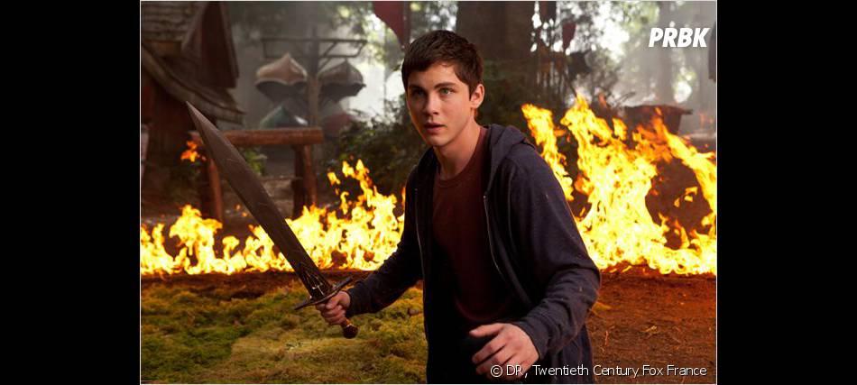 Logan Lerman dans Percy Jackson : La Mer des Monstres