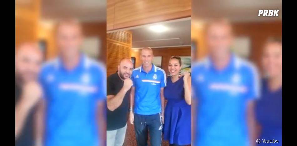 """Zinedine Zidane : soutien l'opération """"Mama de Cuba"""" de Salim et Linda (Pékin Express 2013)"""