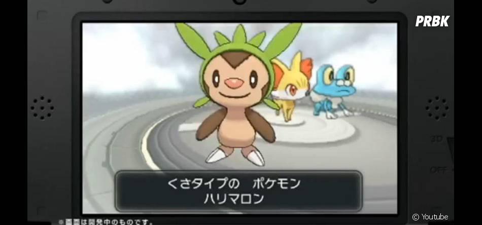 Pokémon X & Y : les nouveaux starters