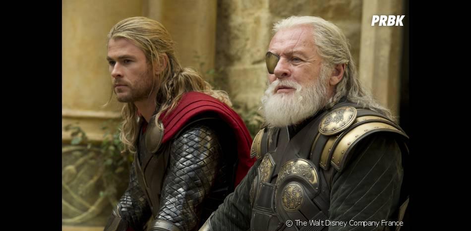 Thor 2 : Anthony Hopkins etChris Hesmworth