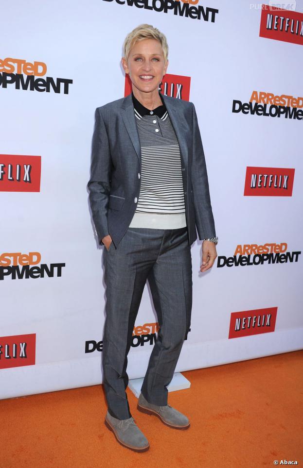 Ellen DeGeneres présentera les Oscars 2014