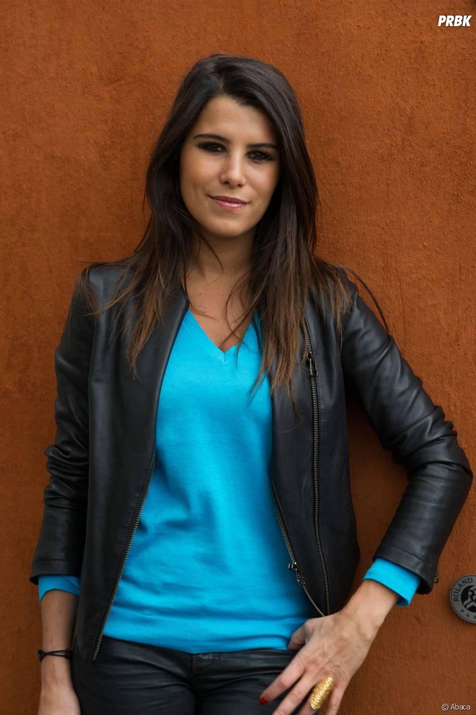 Karine Ferri à Roland Garros 2013