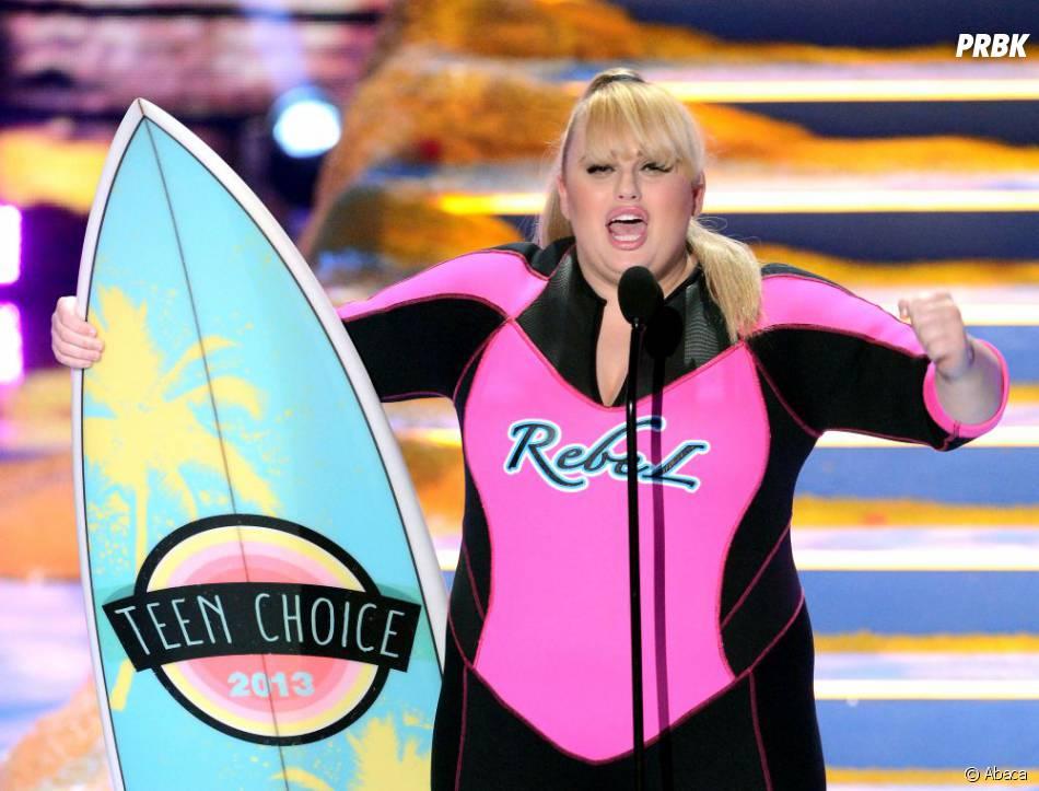 Teen Choice Awards 2013 : Rebel Wilson, grande gagnante