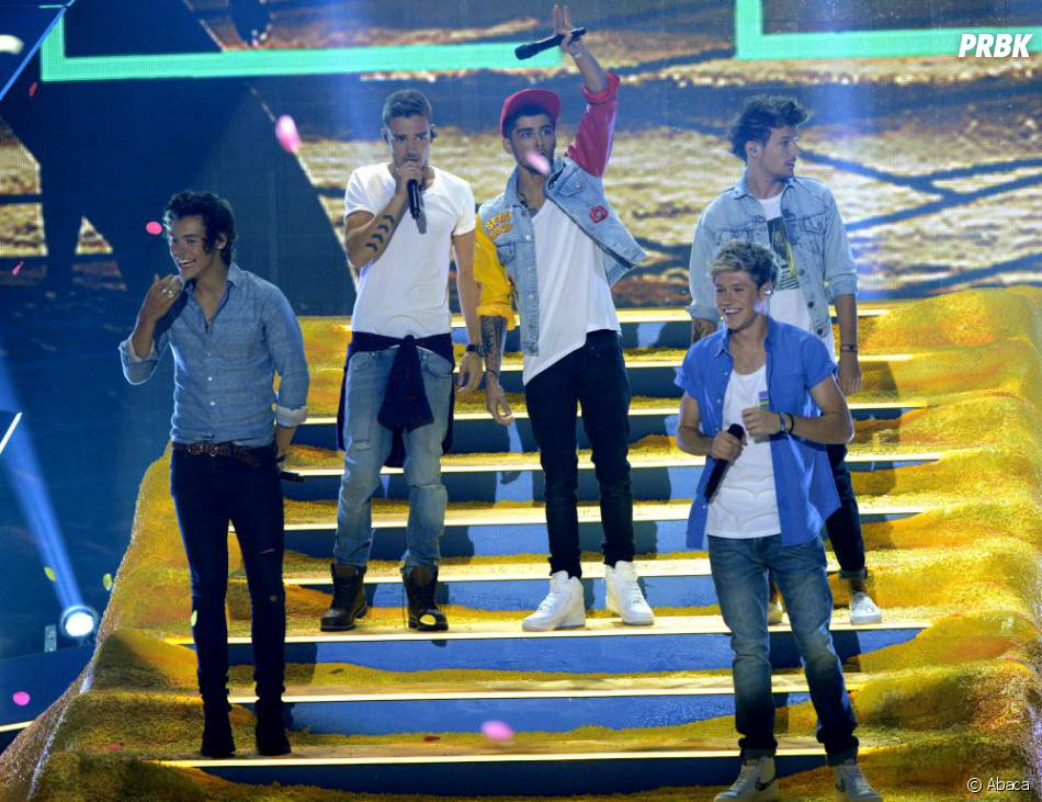 Teen Choice Awards 2013 : Les One Direction ont fait le show