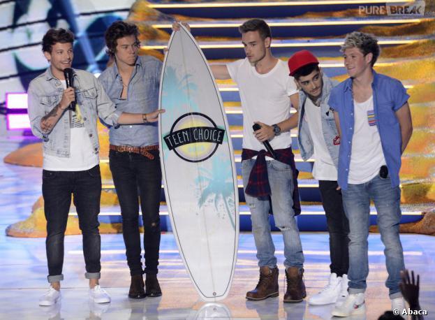 Teen Choice Awards 2013 : les One Direction ont tout gagné