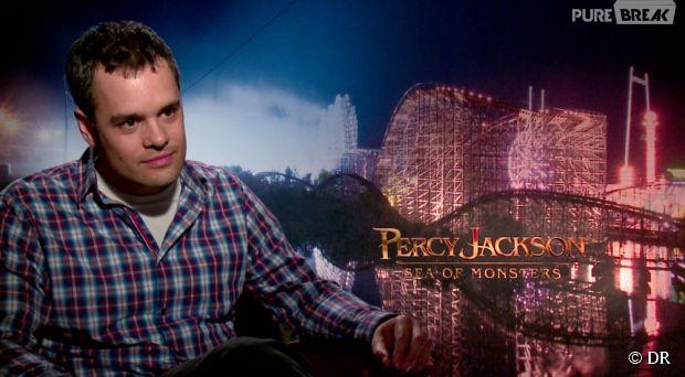 Percy Jackson 2 : Thor Freudenthal, à New York le 26 juillet 2013 pendant son interview avec PureBreak