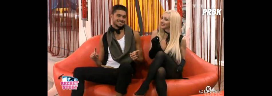 Secret Story 7 : Julien se rapproche de Florine pour rendre Anaïs jalouse.