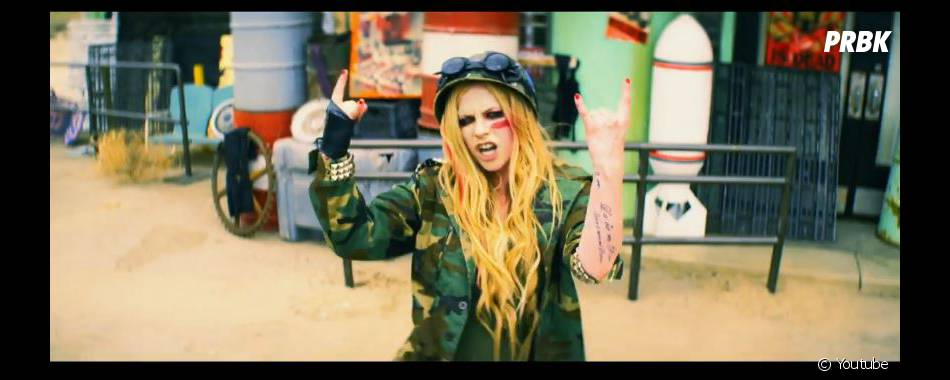 Rock N Roll, le nouveau clip d'Avril Lavigne