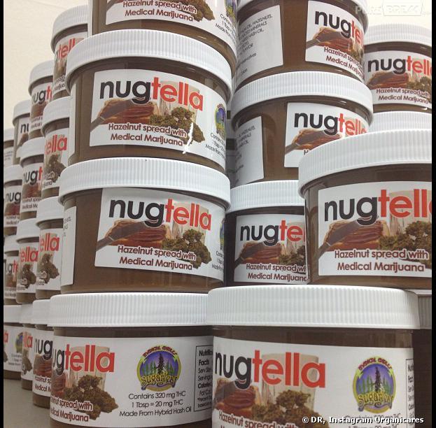 Nugtella : du nutella au cannabis confectionné par Organicares