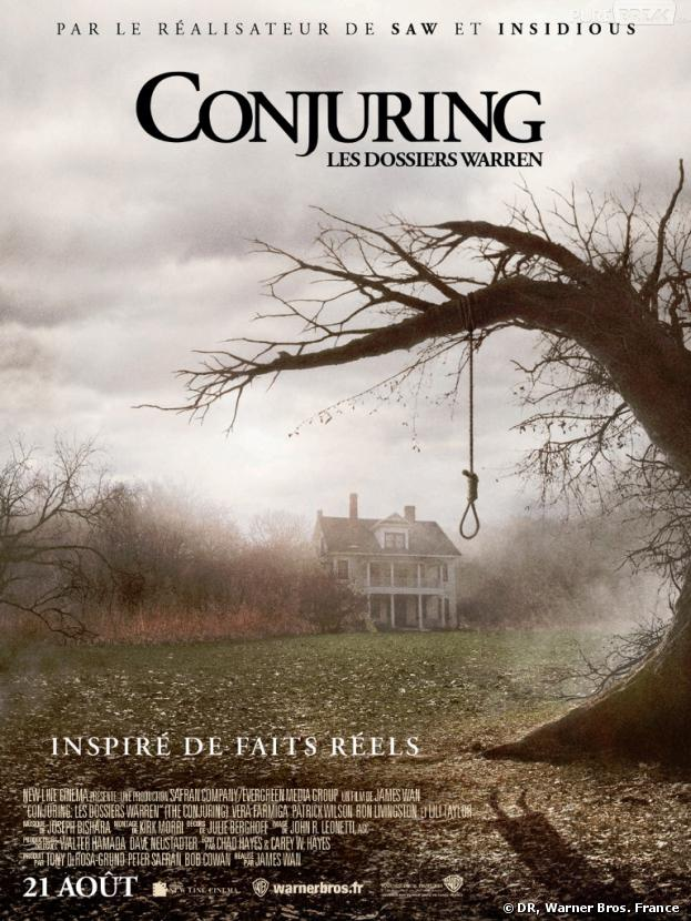 Conjuring Les Dossiers Warren sort ce 21 août 2013 au cinéma