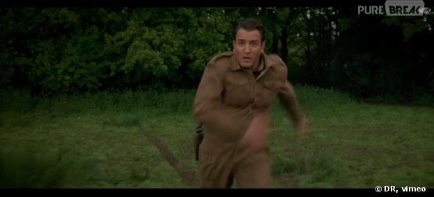 Jean dujardin appara tra dans le film de george clooney for Dujardin imite le chameau